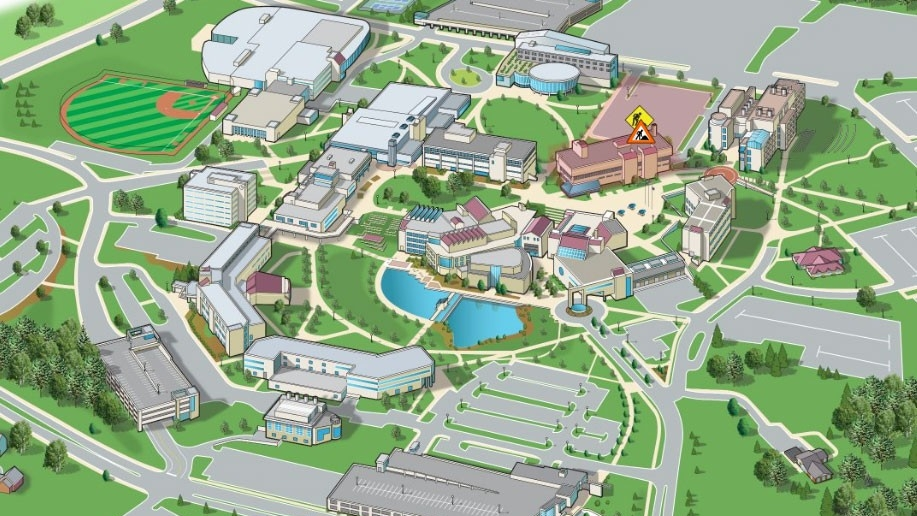 interactive campus map (linked image)