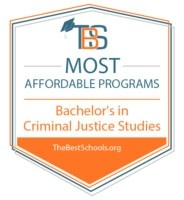 2018 Criminal Justice Best Colleges Logo