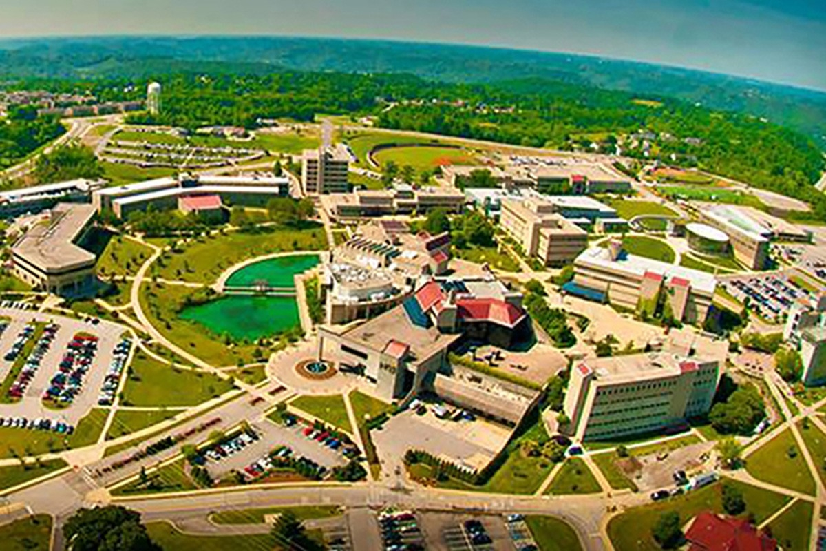 aerial view of NKU