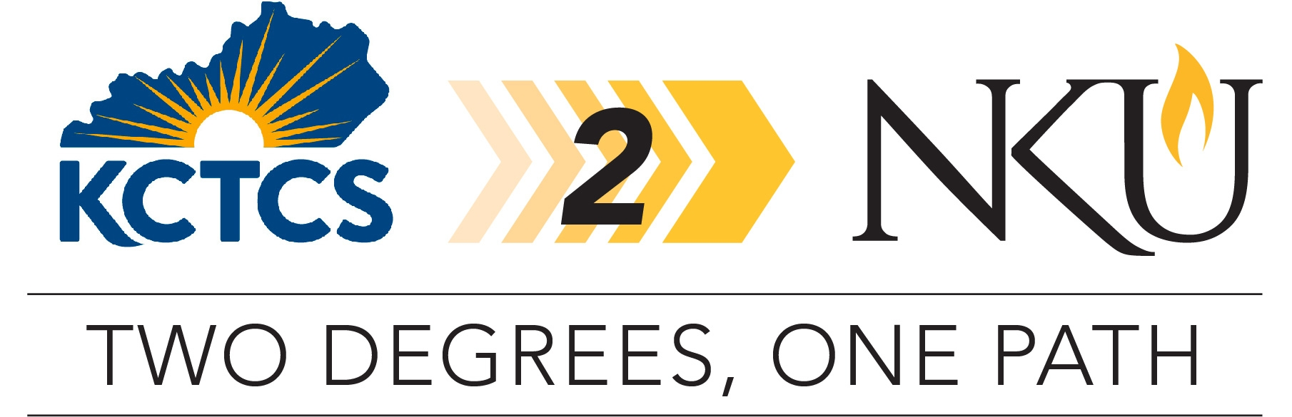 kctcs 2 NKU - two degrees, one path