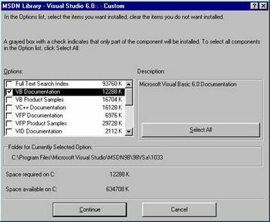 Important Note Visual Basic 6 users